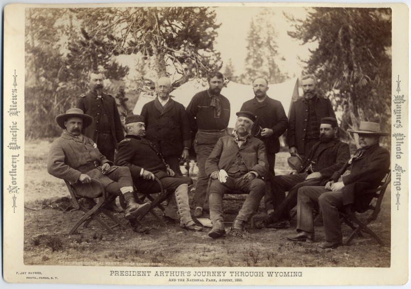 Image: Presidential Party, Upper Geyser Basin