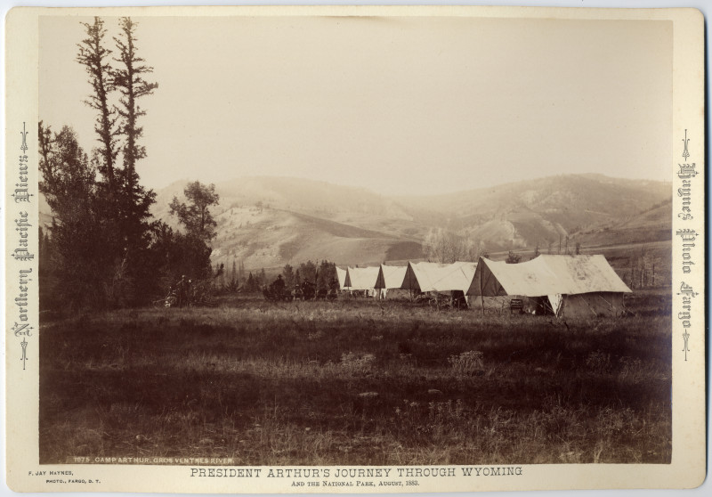Image: Camp Arthur, Gros Ventre River
