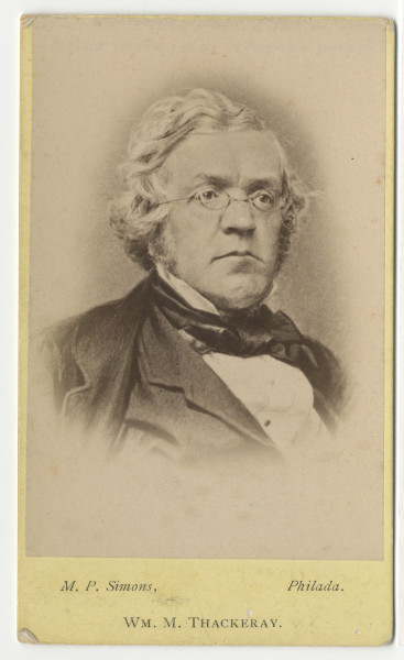 Image: Wm. M. Thackeray