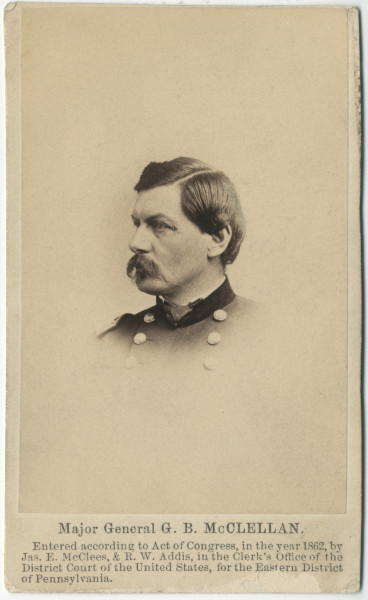 Image: Major General G. B. McClellan