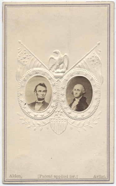 Image: Abraham Lincoln and George Washington
