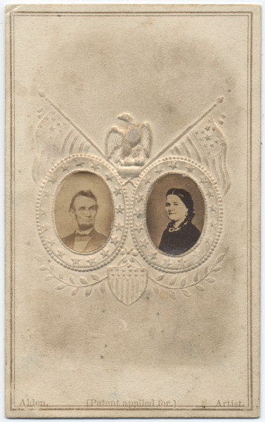Image: Abraham Lincoln and Mary Todd Lincoln