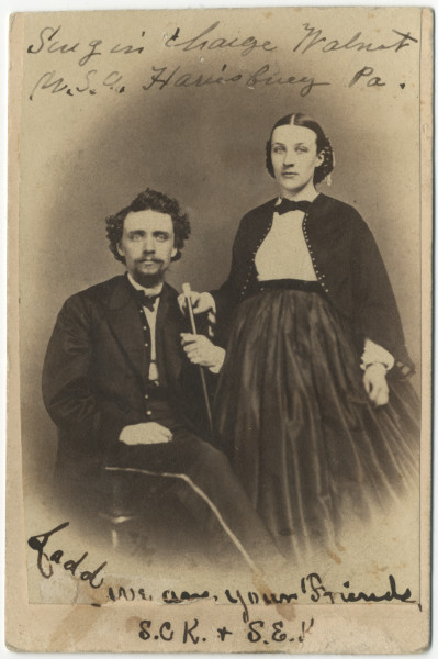 Image: Doctor Samuel Chase King and wife, Sarah