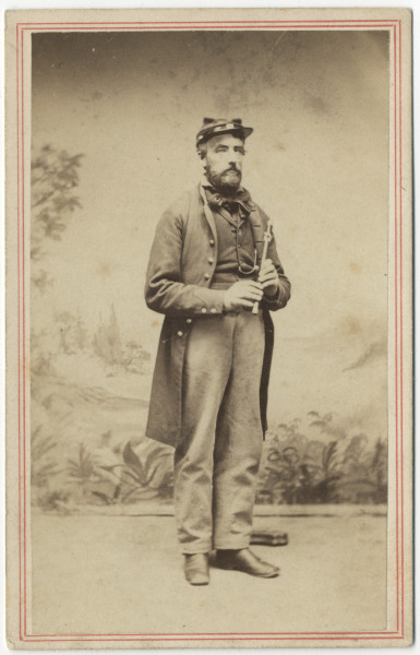 Image: Civil War bandsman