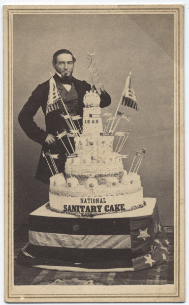 Image: National Sanitary Cake and creator