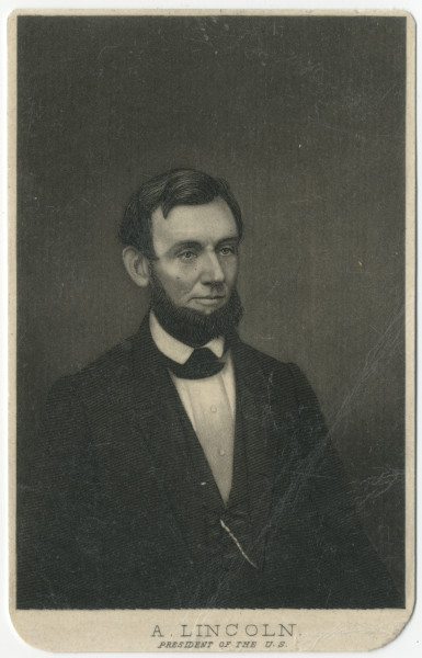 Image: A. Lincoln, President of the U.S.
