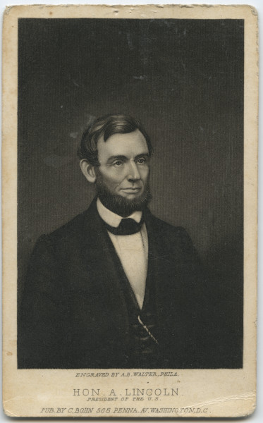 Image: Hon. A. Lincoln, President of the U.S.