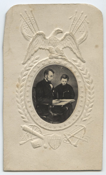 Image: Abraham Lincoln and Tad