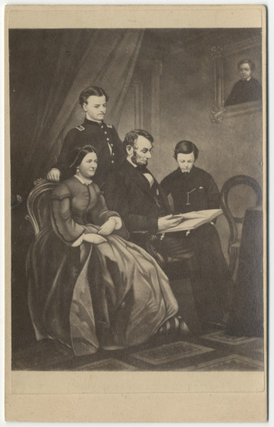 Image: Abraham Lincoln and his family