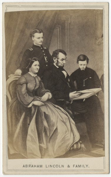 Image: Abraham Lincoln & Family