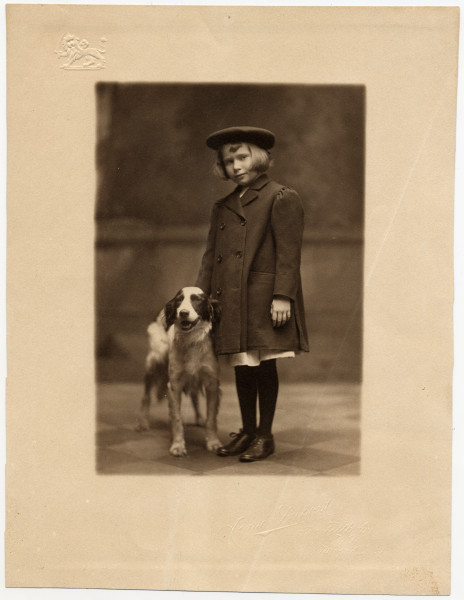 Image: Peggy Beckwith and her dog