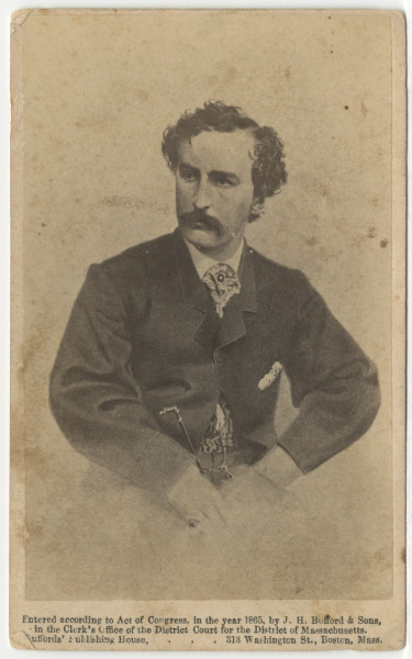 Image: John Wilkes Booth