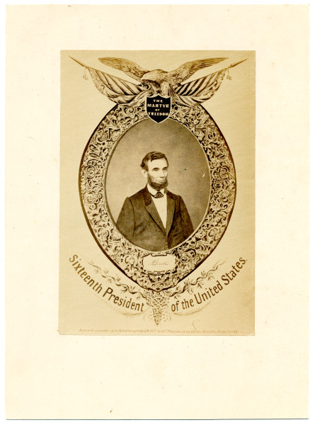 Image: The Martyr of Freedom, A. Lincoln