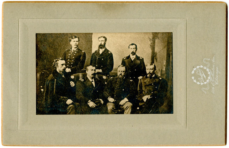 Image: Seven Union officers
