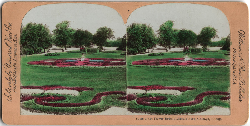 Image: Some of the Flower Beds in Lincoln Park, Chicago, Illinois