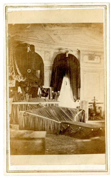 Image: Abraham Lincoln's funeral, Harrisburg, Pennsylvania