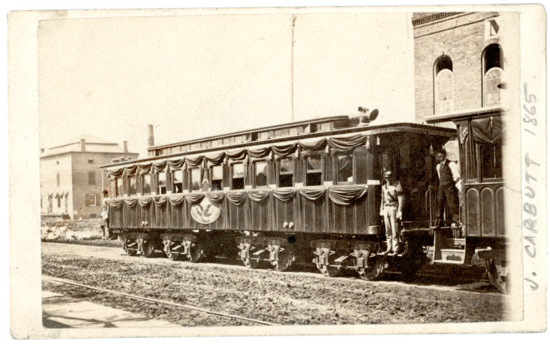 Funeral Train The Lincoln Financial Foundation Collection