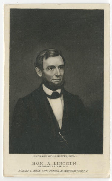 Image: Hon. A. Lincoln