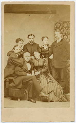 Image: Robert Todd Lincoln at Caton-Williams Wedding