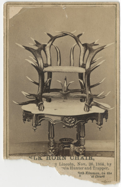 Image: Elk Horn Chair