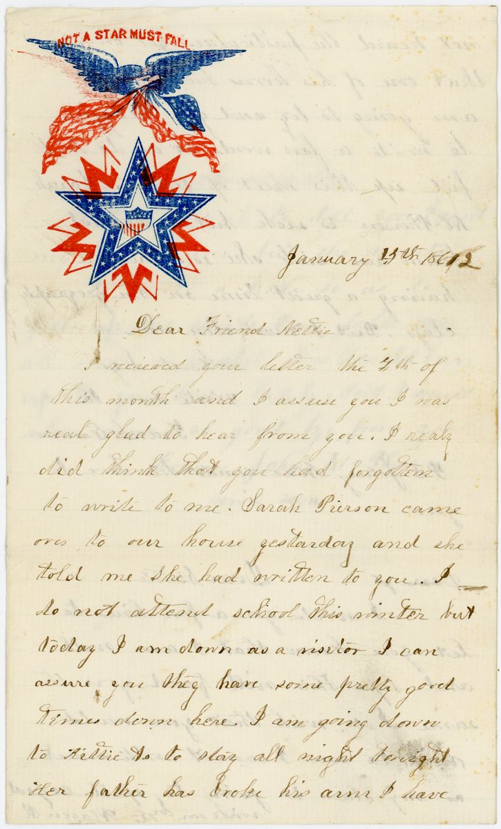 Image: Letter from Frances Emerson to Jenette McVean