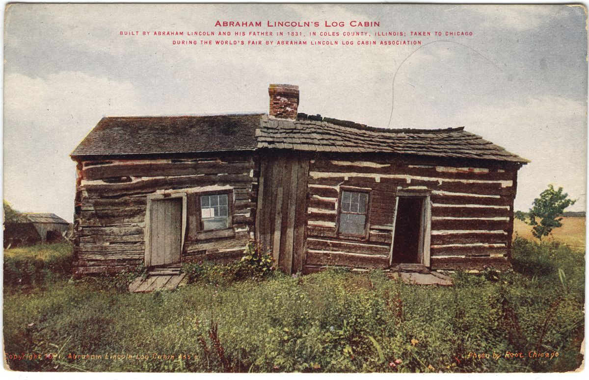 Image: Abraham Lincoln's Log Cabin