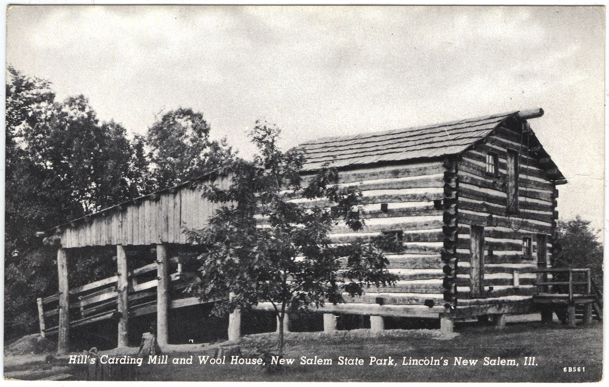 Image: Hill's Carding Mill and Wool House