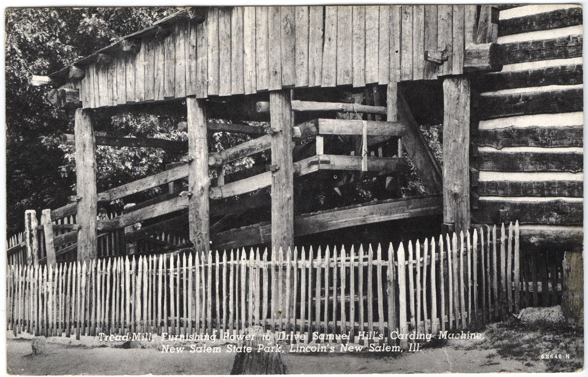 Image: Treadmill at Hill's Carding Mill