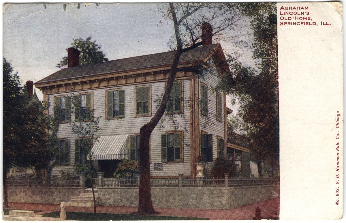 Image: Abraham Lincoln's Old Home