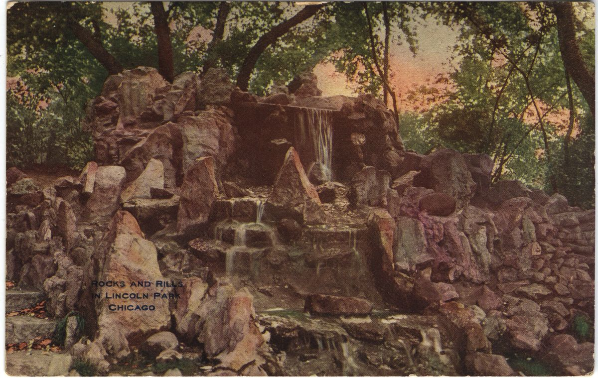 Image: Rocks and Rills in Lincoln Park