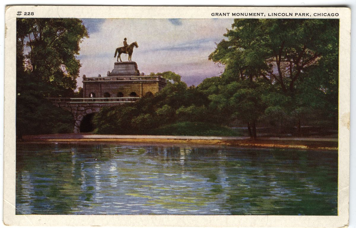 Image: Grant Monument, Lincoln Park