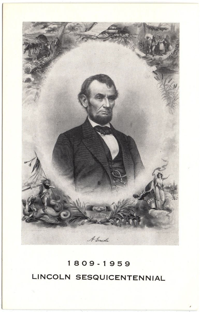 Image: 1809-1859 Lincoln Sesquicentennial