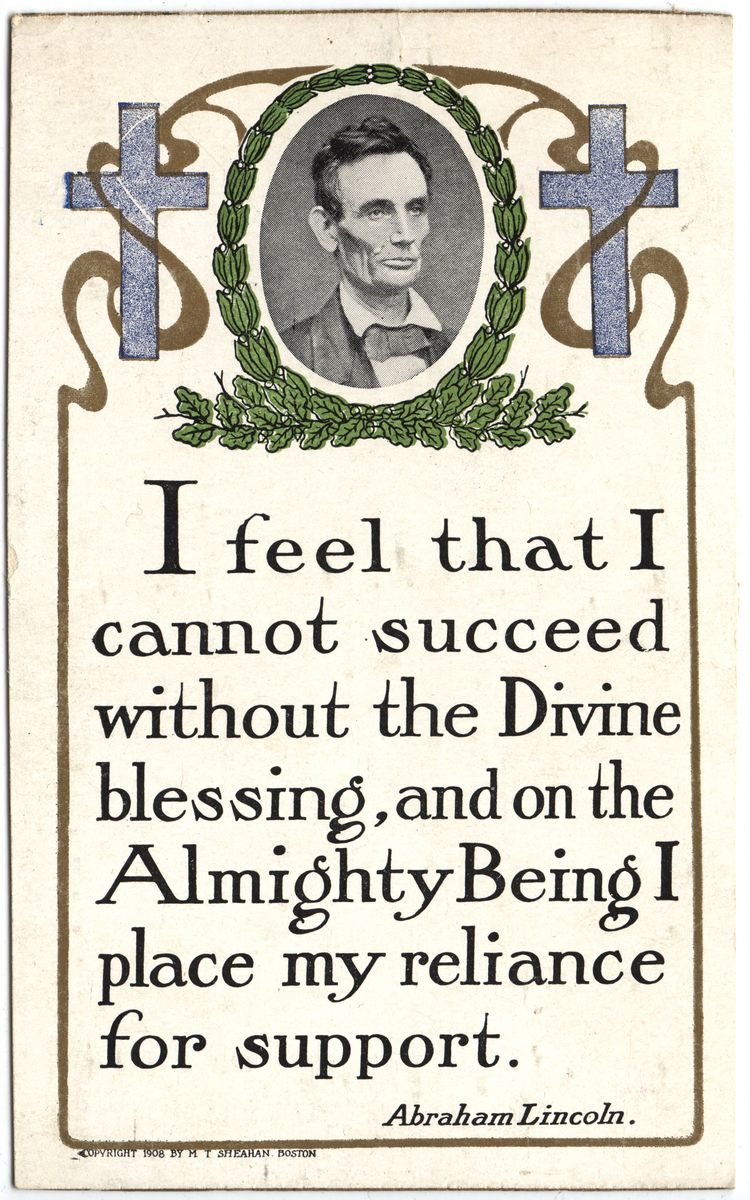 "Image: ""I feel that I cannot succeed..."""