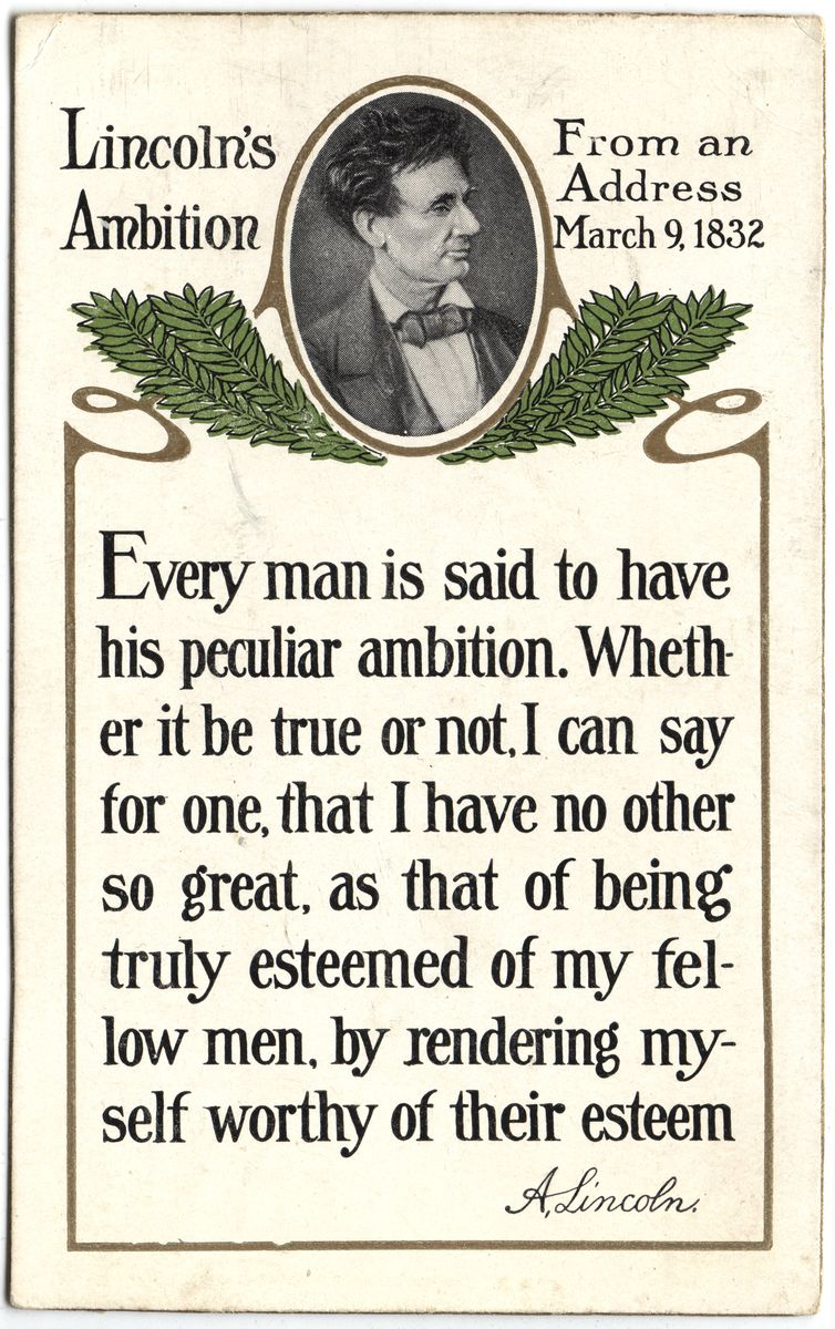 Image: Lincoln's Ambition