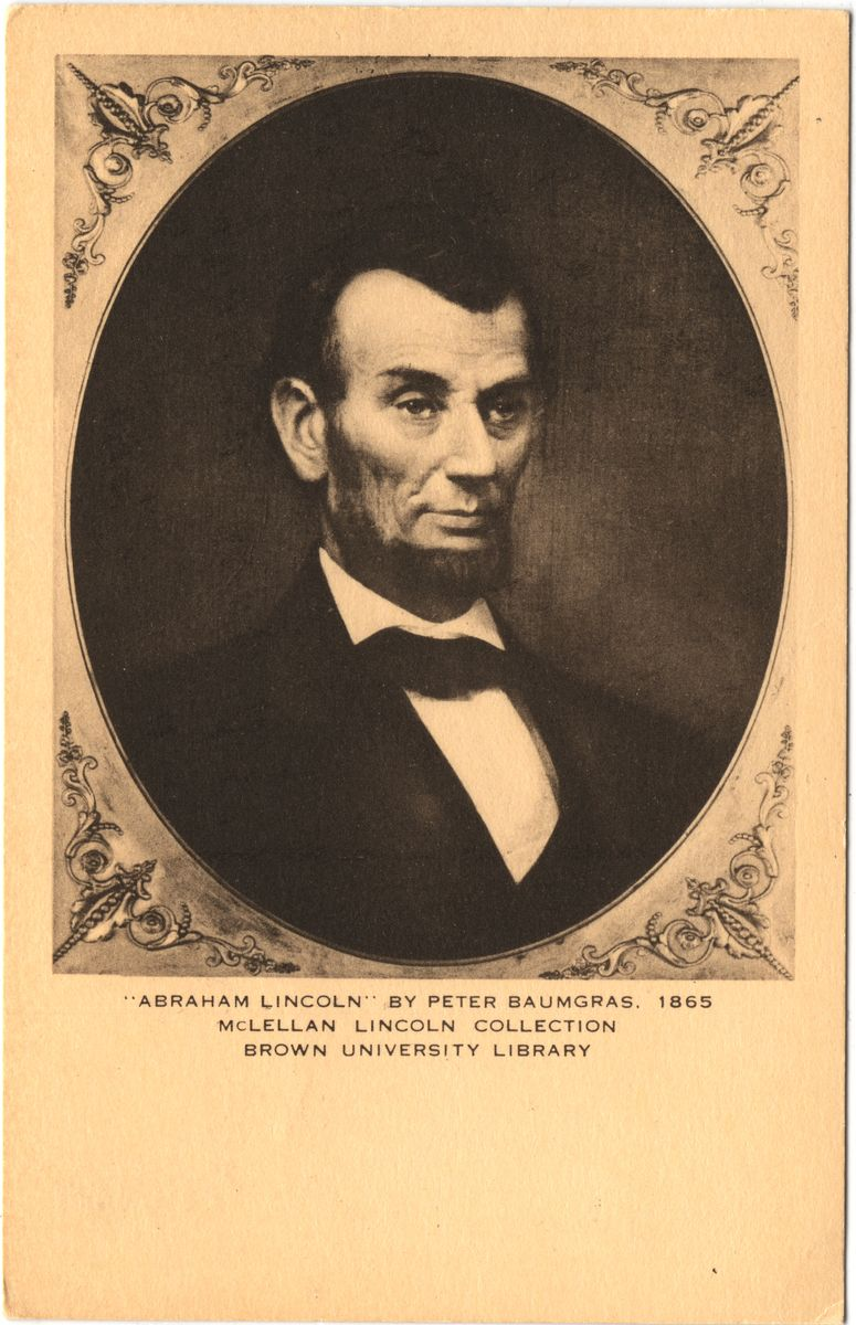 "Image: ""Abraham Lincoln"" by Peter Baumgras"