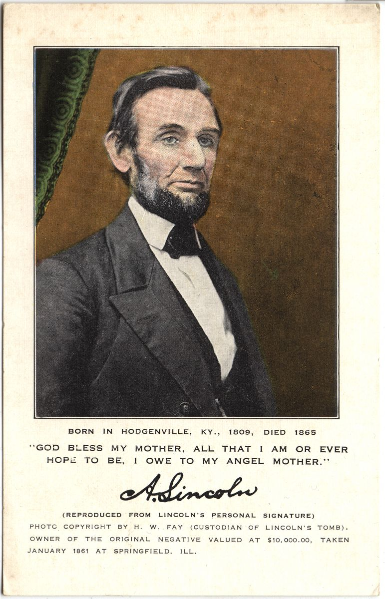 Image: A. Lincoln