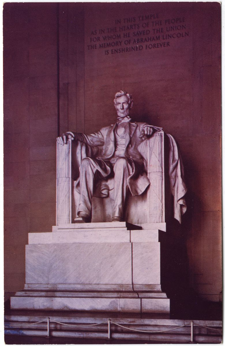 Image: The Lincoln Memorial Statue