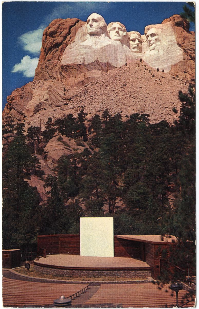 Image: Amphitheater, Mt. Rushmore National Monument