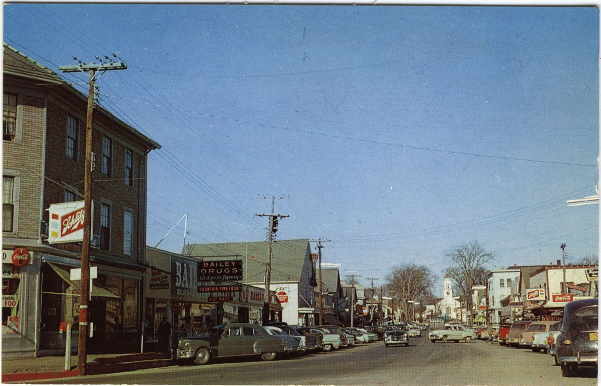 Image: Main Street, Lincoln, Maine