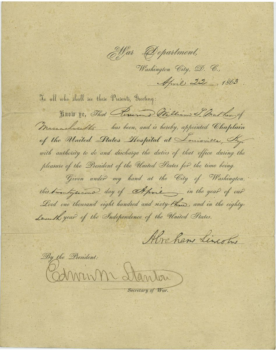 Image: William L. Mather Appointment