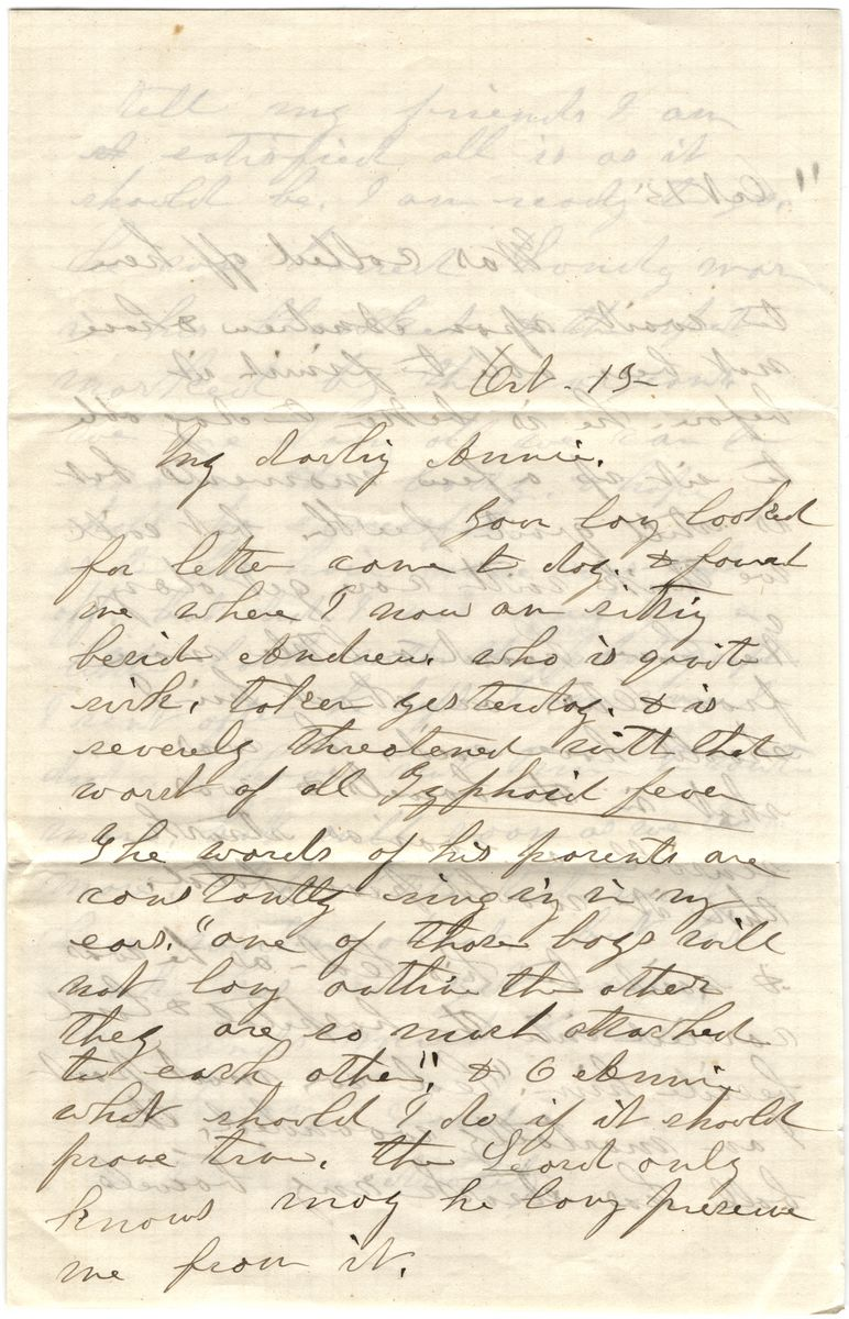 Image: Letter from Sarah Moody to Annie F. Noble