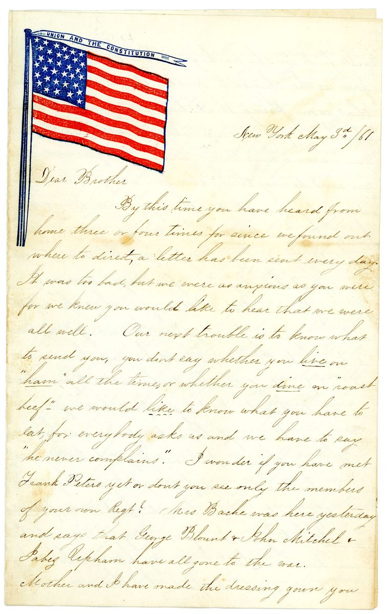 Image: Letter from Ella Pollard to Don Alonzo Pollard