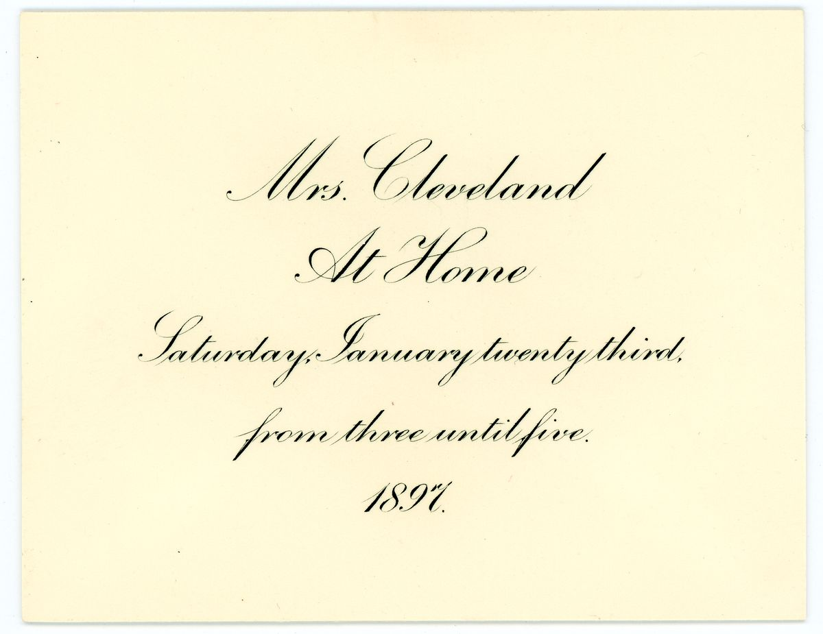 Image: Invitation to Helen Nicolay