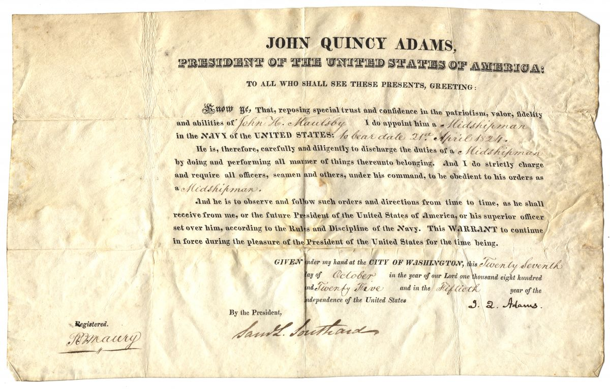 Image: John H. Maulsby Appointment
