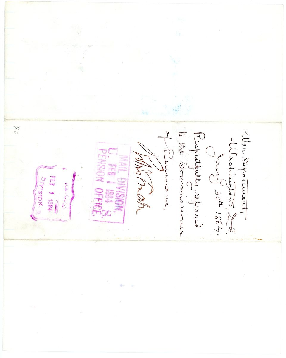 Image: War Department Document