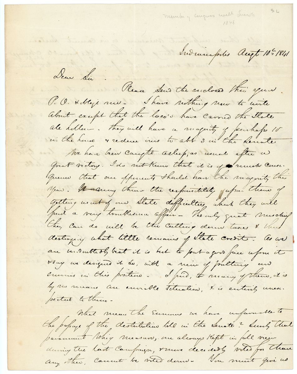 Image: Letter from G.H. Dunn to Richard W. Thompson