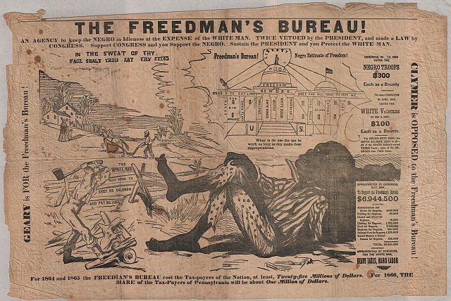 the demystification of the freedmens bureau essay Freedmen's bureau and civil rights bills were in effect meant to protect the various the rights of freedmen.