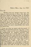 Image: [Letter describing portraits of Abraham Lincoln] /