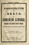 Image: The assassination and death of Abraham Lincoln : President of the United States of America, at Washington, on the 14th of April, 1865 /