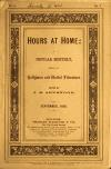 Image: Hours at home : a popular monthly, devoted to religious and useful literature /